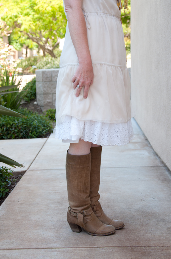 Dresses with boots pictures