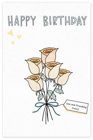 June Birthflower {birthday card}